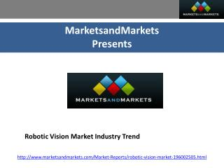 Robotic Vision Market Industry Trends