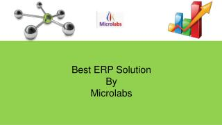 Best ERP Solution by Microlabs