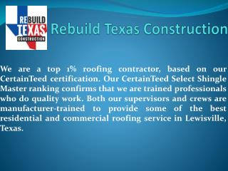 Dallas Roofing Contractors