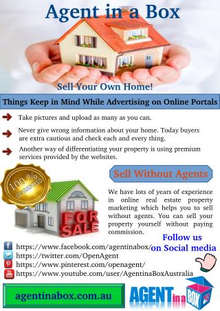 Things to Keep in Mind While Sell Property Without Agents