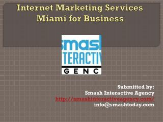 Where Is the Best internet marketing services Miami?