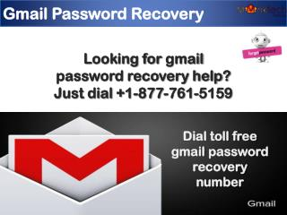Dial 1-877-761-5159 for gmail password recovery