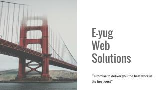 Dedicated web services