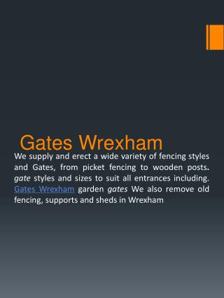 Gates Wrexham