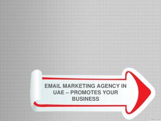 EMAIL MARKETING AGENCY IN UAE – PROMOTES YOUR BUSINESS