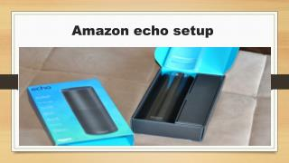 Amazon Echo Setup Call Toll Free:  1844-305-0087
