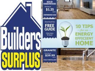 Builders Surplus -Home Improvement, Kitchen, Bathroom
