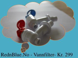 RednBlue.No - Vannfilter- Kr. 299