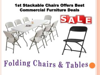 1st Stackable Chairs Offers Best Commercial Furniture Deals