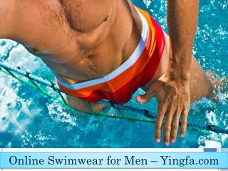 Men Competition Swimwear | Yingfa swimwear USA Inc.