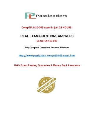 Passleader N10-005 VCE