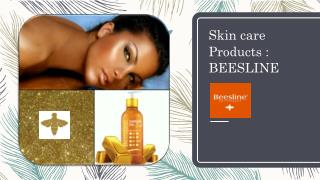 Beesline : Chemical Free Skin Care Products