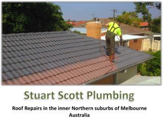 Stuart Scott Plumbing Roof repair Services in Melbourne