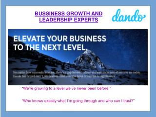 Elevate Your Business to the Next Level.