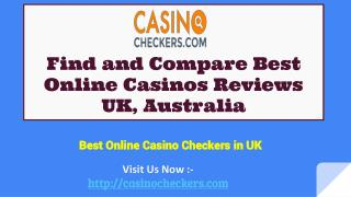 Compare Best Casino Online in UK