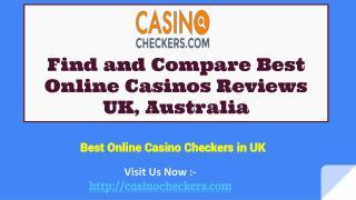 Compare Best Casino Online in UK