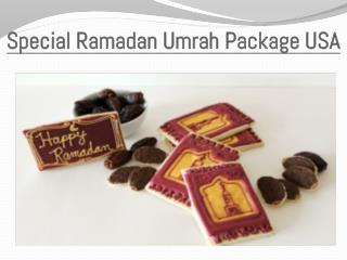 Special Ramadan Umrah Package USA