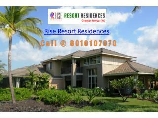 Rise Resort Residences Greater Noida West