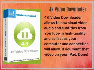 4k Video Downloder