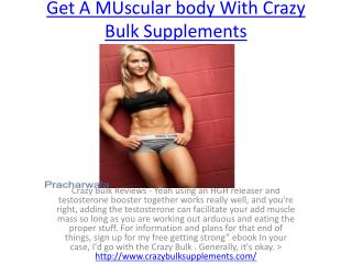 Increase Your Manhood With Crazy Bulk Reviews