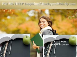 PM 586 HELP Inspiring Minds/pm586help.com