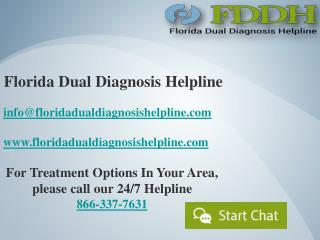 Florida Dual Diagnosis Helpline