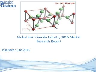 Zinc Fluoride Market Global Analysis and Forecasts 2021