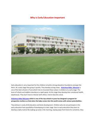 Victorious Kidss Educares - Best IB schools in Pune