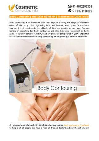 Body Contouring and Skin Tightening Treatment In Delhi India