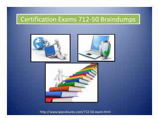 ECCouncil Certification Exams 712-50 Braindumps