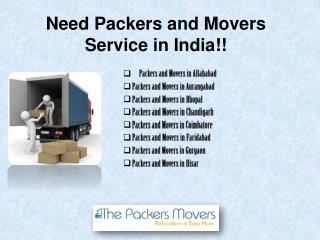 Reliable Packers and Movers Services in Different Cities