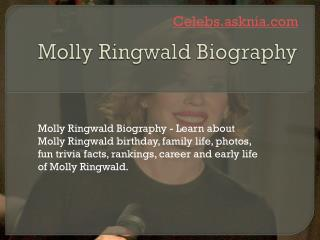 Molly Ringwald Biography | Biography of Molly Ringwald