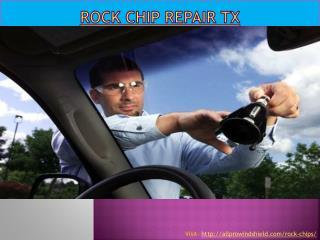 Rock chip repair tx
