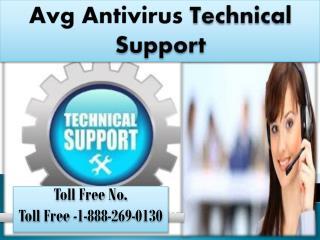 Avg Antivirus customer 1-888-269-0130   Helpline Number