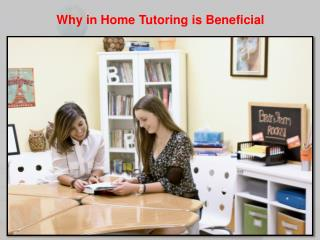 Home Tutoring Beneficial for Kids in West Bloomfield