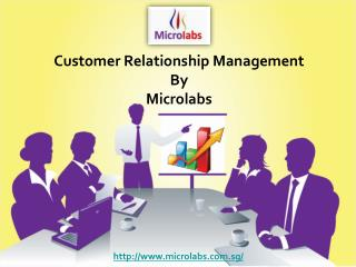 Customer Relationship Management by Microlabs Pvt Ltd
