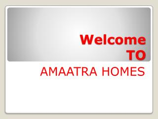 Amaatra group residential flat