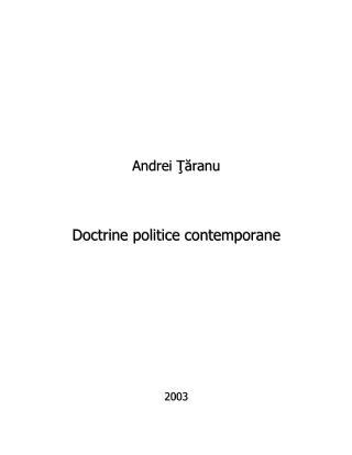 Teorii politice