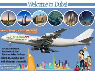 Best places to include in your Dubai Tour packages
