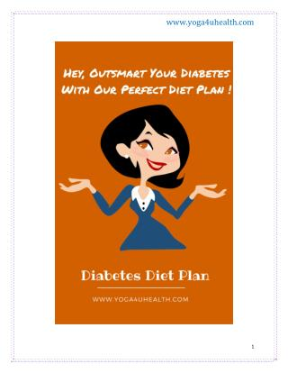 Diabetes Diet Plan