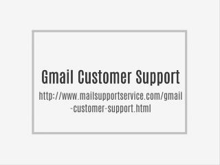 Gmail Customer Service Email id