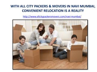 Packers and Movers in Navi Mumbai - All City Packers and Movers®
