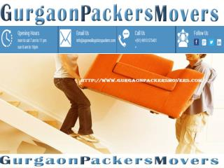 LOCAL PACKERS AND MOVERS IN GURGAON