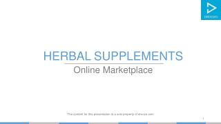 Buy Herbal Supplements online in India on Droozo.com