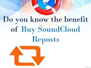 Buy SoundCloud Reposts for Higher Promotion
