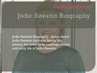 Jodie Sweetin Biography | Biography of Jodie Sweetin
