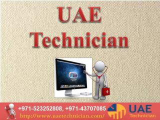 MAC repair technician in dubai