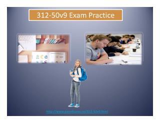 Certification Exams 312-50v9
