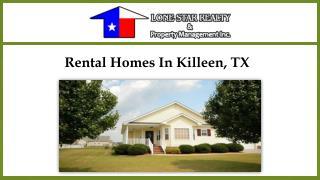 Rental Homes In Killeen, TX